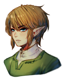 twilight princess -- link sketch by onisuu