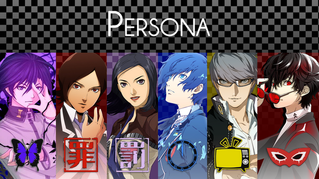 Persona Series Wallpaper by fake-magical-girl