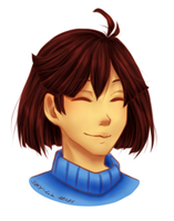 A little Frisk by SKY-Lia