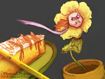Flowey Don't you Want Some? by SkywardSylphina
