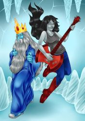 Ice King And Marceline Cosplay - David Commission by blua
