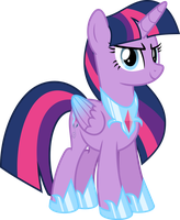 MLP Vector - Twilight Sparkle #14 (Sparkle AU) by jhayarr23