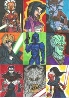 EU Prizes - Sketch Cards 03 by JoeHoganArt