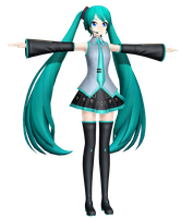 MMD Dreamy Vocal Miku by MisakiGalhardo