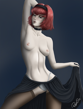 Dorothy Topless Dancer by AndronicusVII