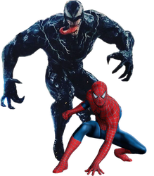 Venom and Spider-Man PNG by Gasa979