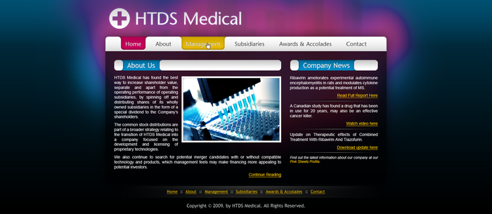 HTDS Medical by iodic