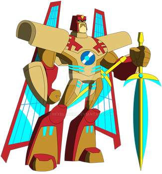 Transformers Animated - Vector Prime by RexBlazer1