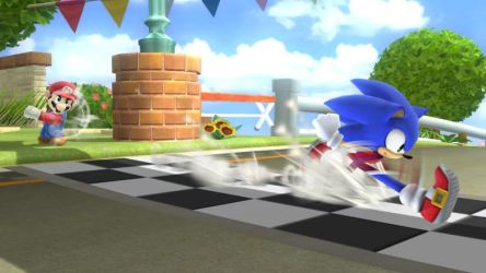 Sonic in Mario Kart 8... by EternityTsubasa