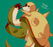 Chesnaught Good Luck