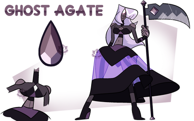 [P] - Ghost Agate by FloofHips