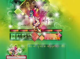 Layout ft. Cara Delevingne 002 by PixxLussy