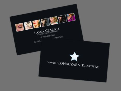 Makeup Stylist - Business Card by Funialstwo