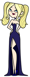 Total Drama Dawn - Midnight Blue Prom by EvaHeartsArt