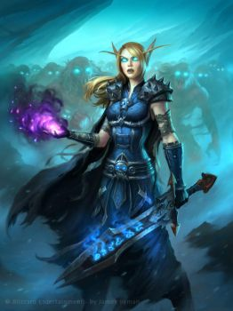 Hearthstone - Corpsetaker by namesjames