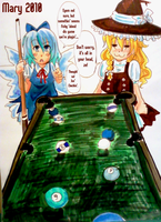 50. Breaking the Rules +Touhou by Meari-chan