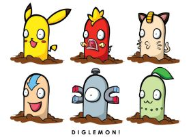 Pokemon Diglett DIGLEMON