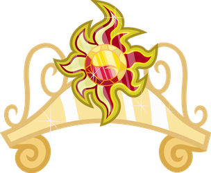 Sunset Shimmer's Crown - The Element of Magic by MillennialDan