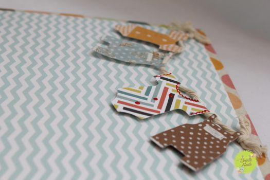 Baby photo album by briellemade