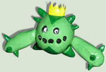 Hand made figurine of Cacnea the cactuuus! :D by TheLittlelight