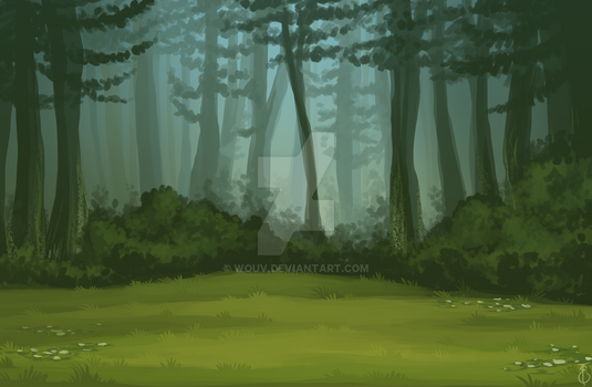 forest by Wouv
