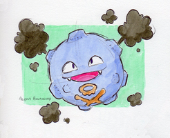 #109 Koffing by little-ampharos