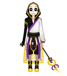 [Undertale/OC] Tenkei by BlurryNightSky