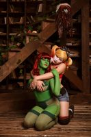 Harley and Ivy by ZoeVolf