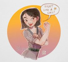 Fight like a girl! by marianovella
