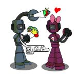 Robots don't smell flowers... by Adam-Clowery