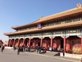Inside the forbidden city by dclee
