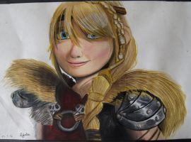 Astrid - HTTYD 2 by AlexFentonDesigns
