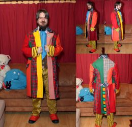 Doctor Who 6th Doctor cosplay by silveriatha