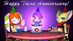 Freedom Planet's Third Anniversary by TBWinger92
