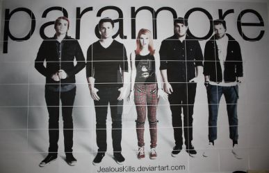 Paramore Poster by JealousKills