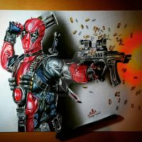 Deadpool by art-i-fexx