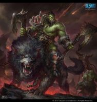World Of Warcraft Orc. by JeremyChong