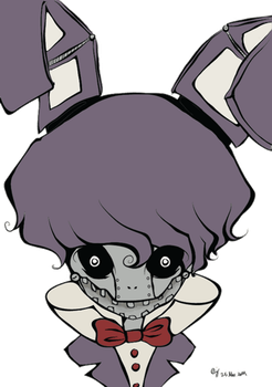 FNAF Bonnie by animecrazy103