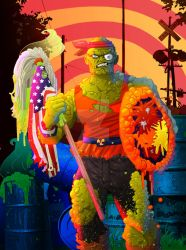 The Toxic Avenger by CarlPearce