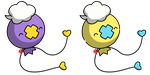 Pokemon #425 - Drifloon by Fyreglyphs