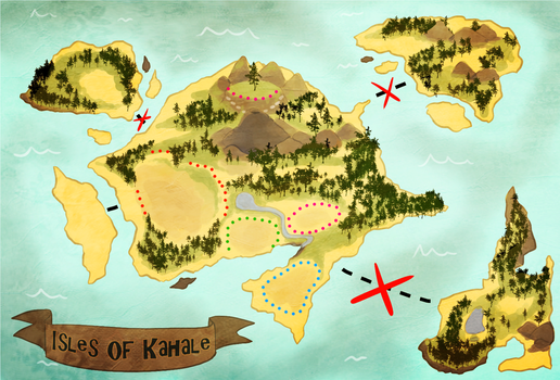 Isles of Kahale by JellyBirbs