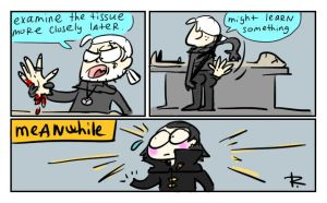 The Witcher 3, doodles 165 by Ayej
