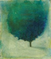 Solitary Tree: Blue and Green by SethFitts