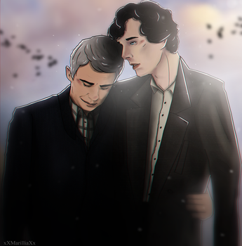 [John x Sherlock] warmth by xXMarilliaXx