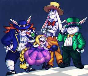 MARIO BROS: Rascally Rabbits by BechnoKid