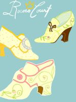 Rococogasmic shoes by WisdomsPearl