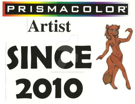 PRISMACOLOR Artist Since 2010 by MugenPlanetX