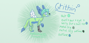 Grithin - my OLDEST charachter by Ferretser