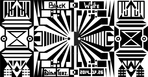 Show Me : White and Black by UAkimov09