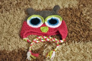 Another Crochet Owl Hat! by RaindropMelody
